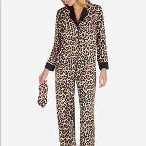 Kate spade leopard pajamas small